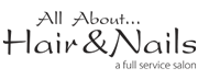 All About Hair & Nails Logo